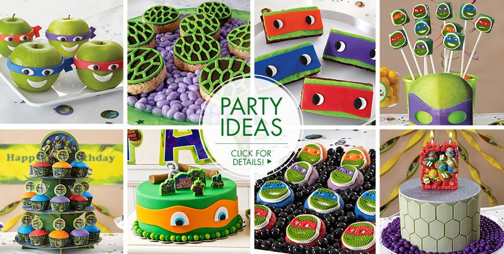Teenage mutant ninja turtles cake supplies teenage for Tmnt decorations
