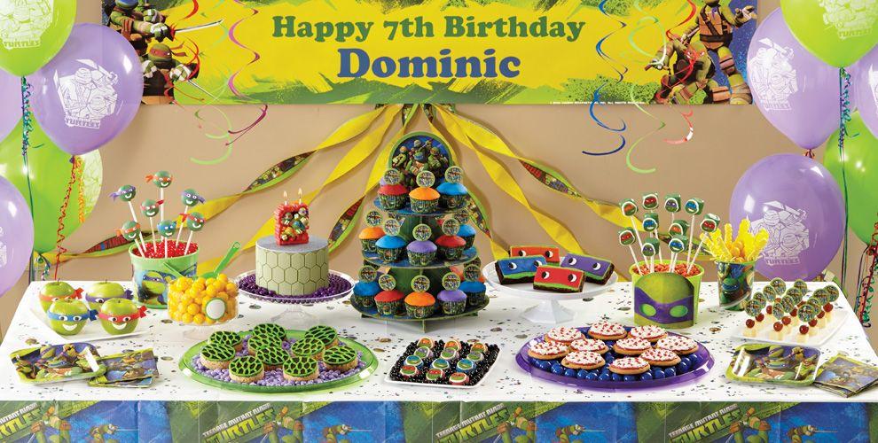 TMNT Cake Supplies #1