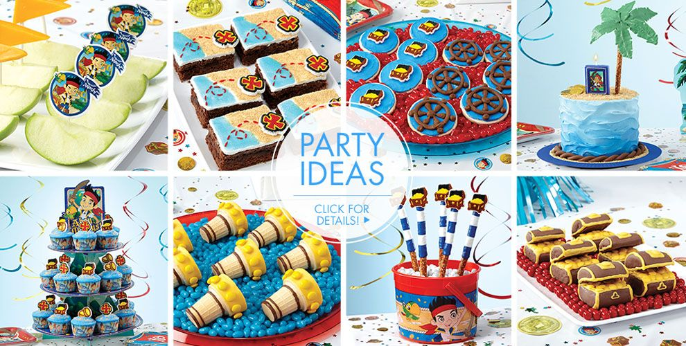 Jake and the Never Land Pirates Cake Supplies #2