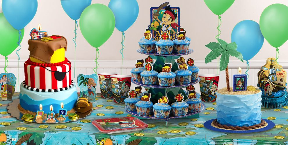 Jake And The Neverland Cake Pans