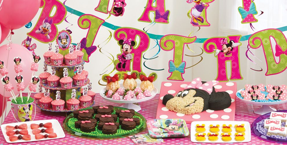 Minnie Mouse Cake Supplies #1