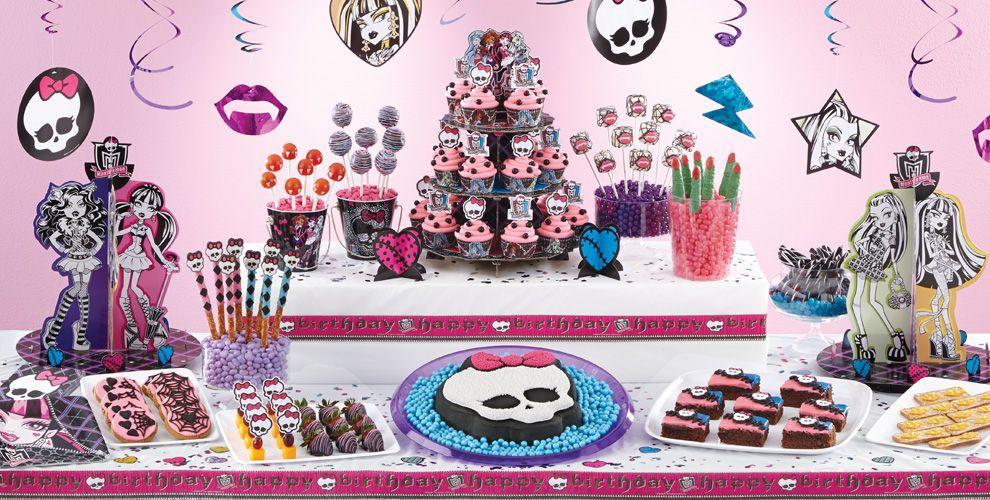 Monster High Cake Supplies Monster High Cupcake Amp Cookie
