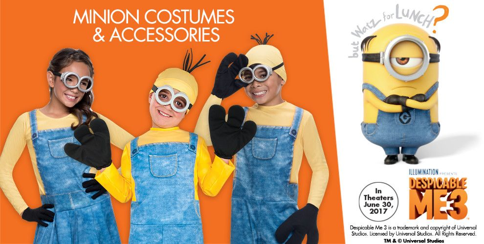 Minion Costumes & Accessories — Minions Party Supplies