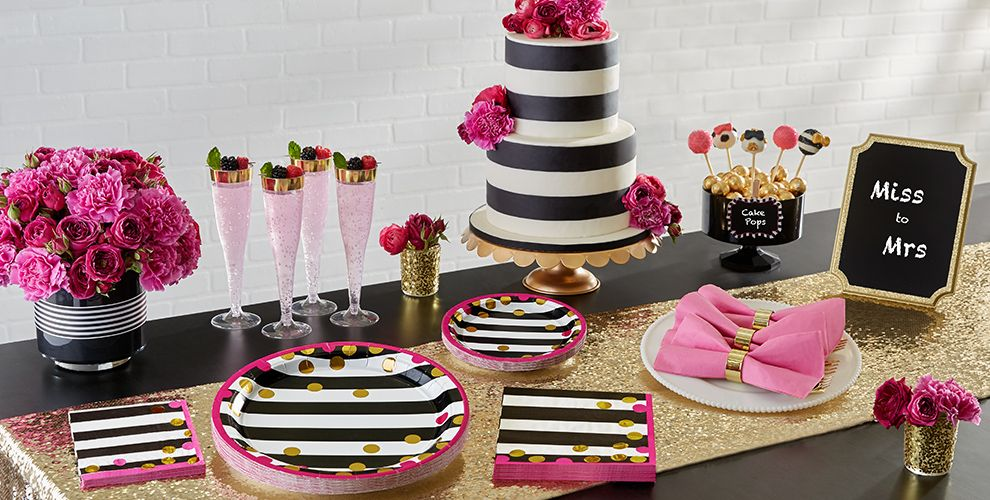 Pink and Gold – 50% off Patterned Tableware MSRP
