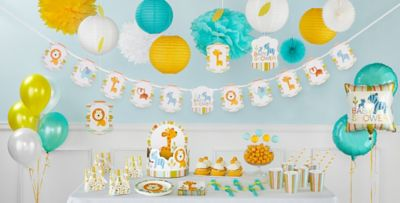 ... Happy Jungle Baby Shower Party Supplies ...