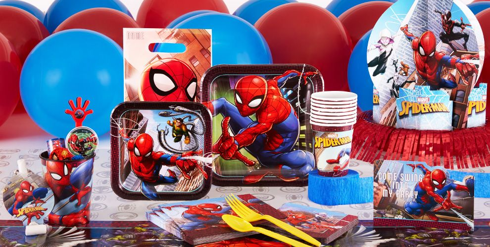 Spider-Man Webbed Wonder Party Supplies