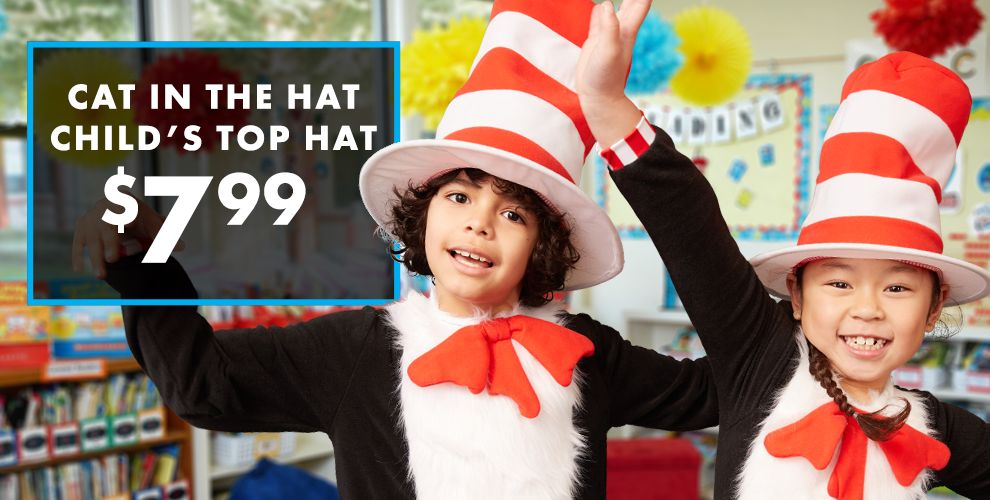 Dr Seuss Hats - starting at $7.99