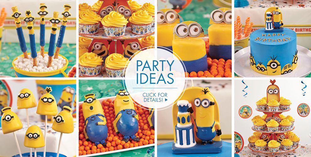 Minion Cake Supplies - Minion Cupcake & Cookie Ideas ...