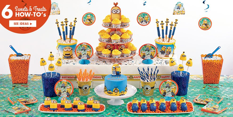 Despicable Me Minion Party Supplies – Sweets & Treats