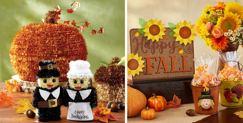 fall table decorations - fall centerpieces & confetti - party city