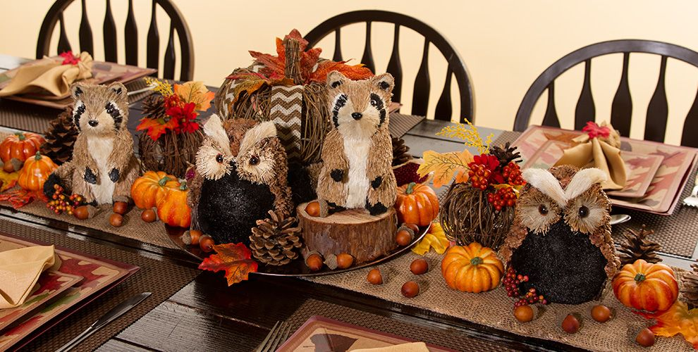 Fall Table Decorations #1