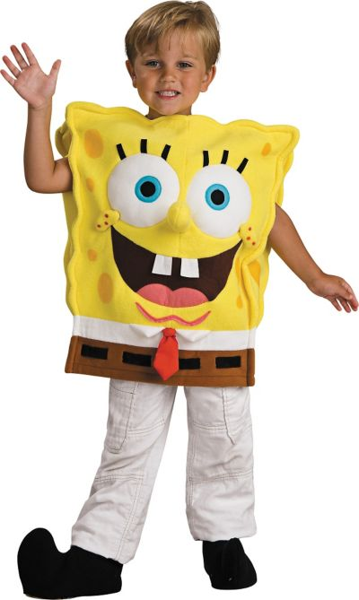 Boys SpongeBob Costume Deluxe