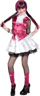 girls draculaura dress costume monster high