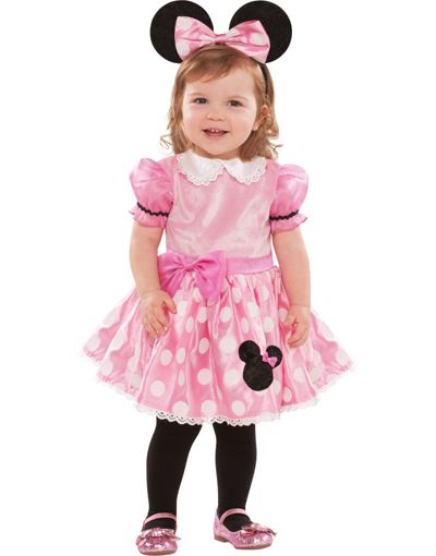 Baby Pink Minnie Mouse Costume Party City