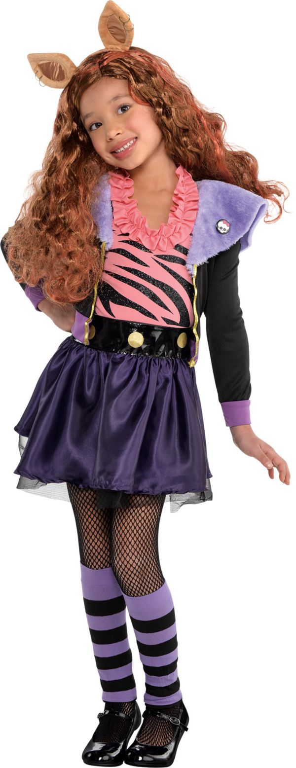 Party City Halloween Costumes For Girls Monster High