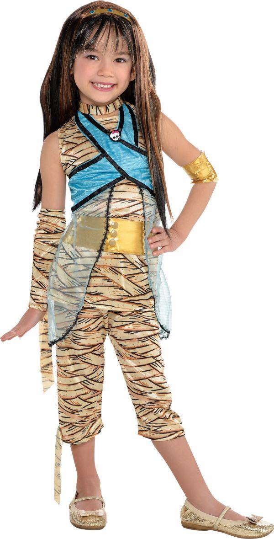 christmas todler photo ideas - Little Girls Cleo de Nile Costume Deluxe Monster High