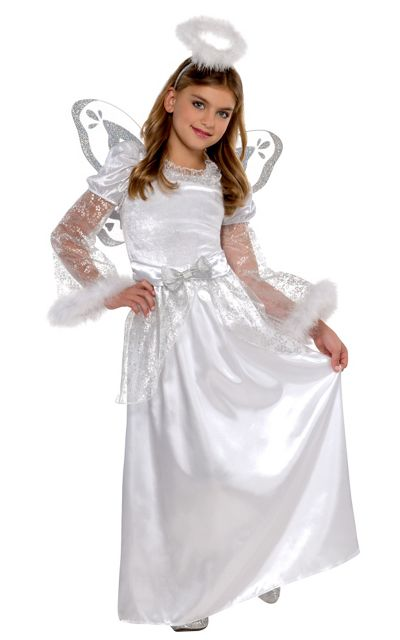 Christmas angel costume for girls party city