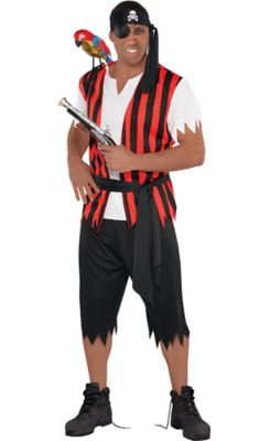 adult ahoy matey pirate costume