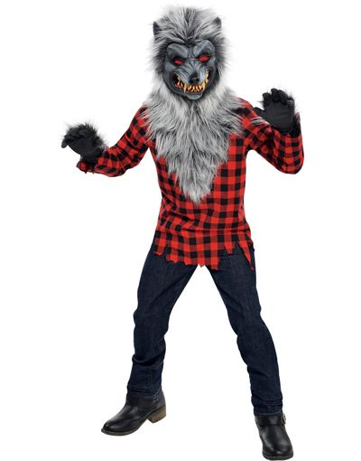 Boys Hungry Howler Werewolf Costume - Party City