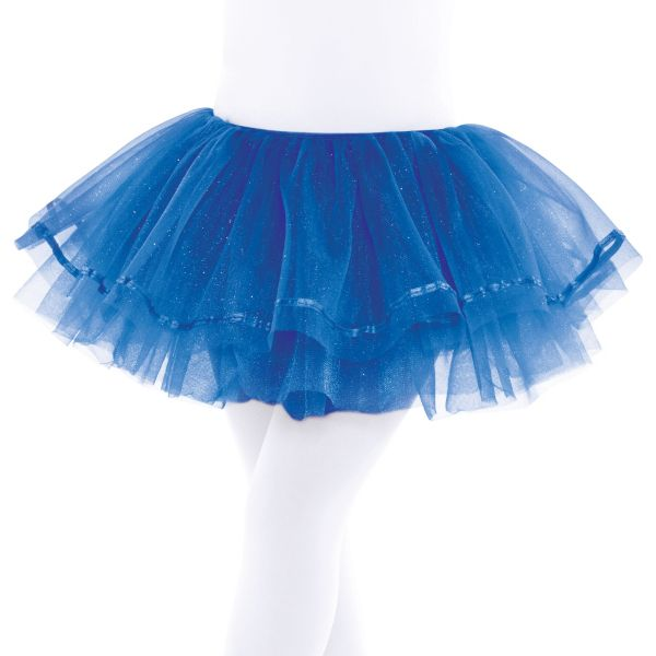 Child Royal Blue Shimmer Tutu