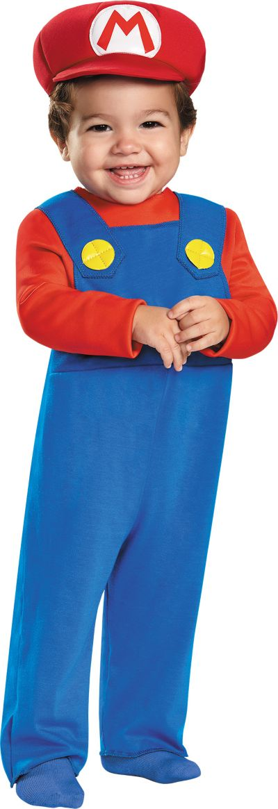 Mario Brothers Baby Costume Baby Mario Costume Super