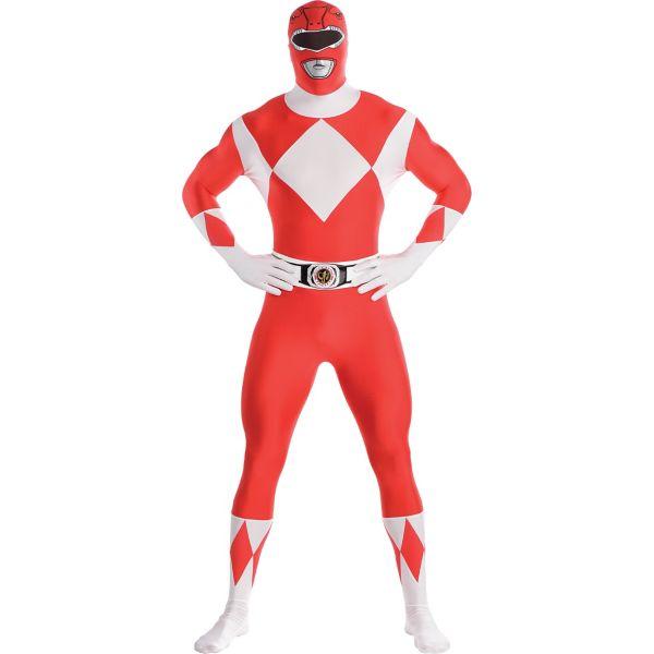 Red Power Ranger Partysuit - Mighty Morphin Power Rangers