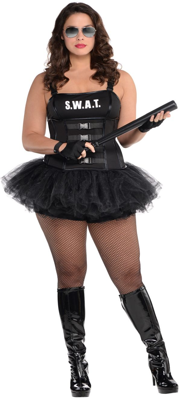 hot swat costume plus size
