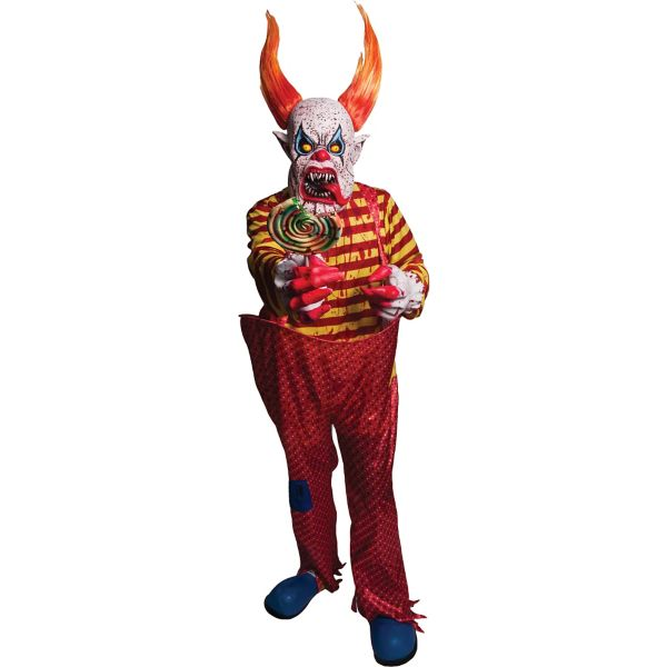 Horns the Scary Clown Costume
