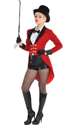Adult Circus Ringmaster Costume - Size - L