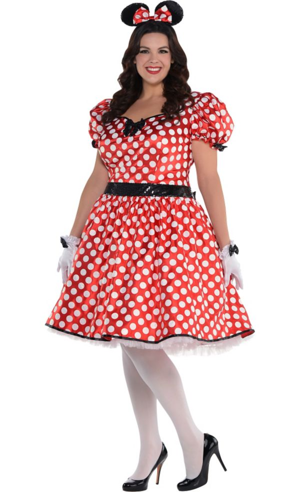 sassy minnie mouse costume plus size