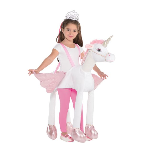 Girls Unicorn Ride On Costume
