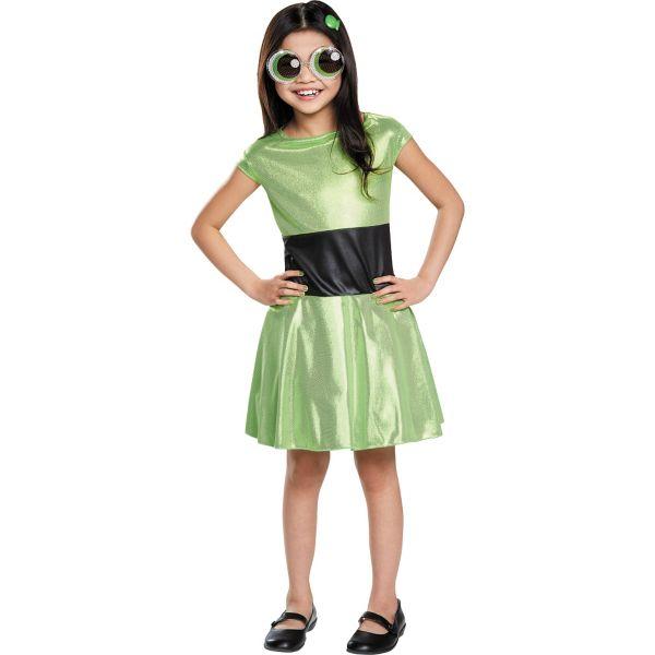 Girls Buttercup Costume - The Powerpuff Girls Powerpuff Girls Buttercup Costume