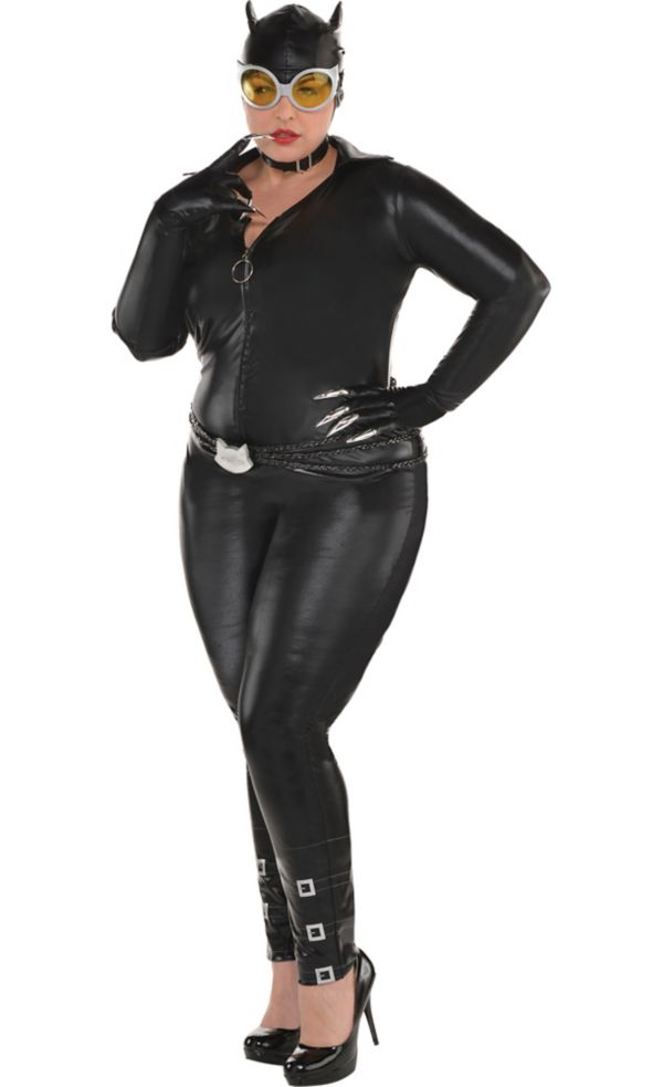 catwoman costume plus size - dc comics new 52