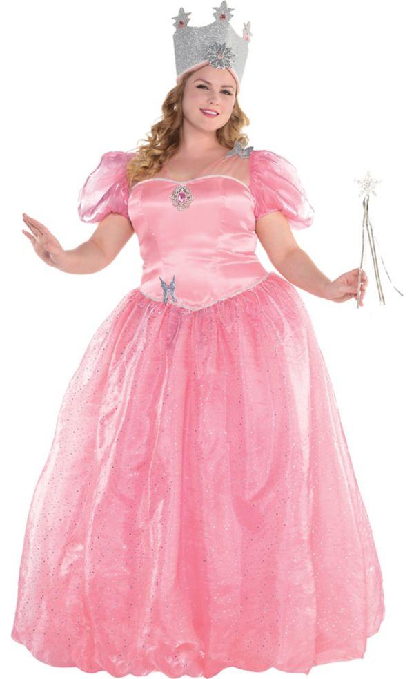 glinda costume plus size - wizard of oz