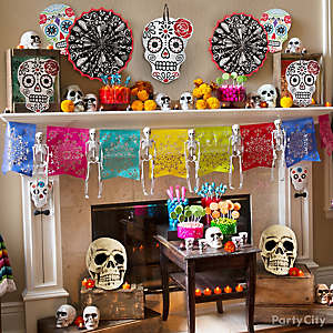 day of the dead decorations - Halloween Decorations For A Party
