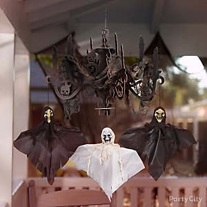 haunted house halloween decorations - Halloween Decorations For A Party