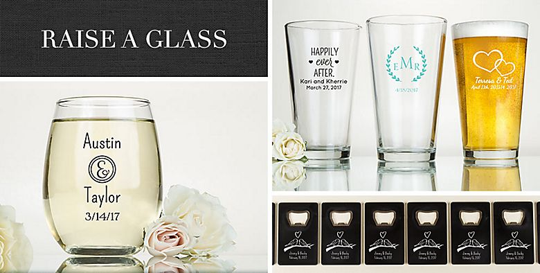 Drinkware, Barware Wedding Favors