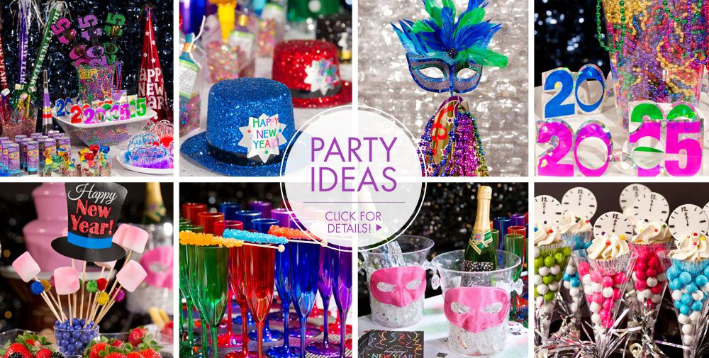 Wild New Year Party Ideas