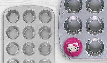 Cupcake Baking Pans, Cookie Sheets