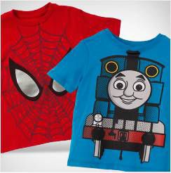 Licensed Character T-Shirts