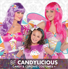 Candy & Cupcake Costumes
