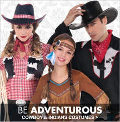 Cowboy & Indians Costumes