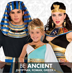 Egyptian, Roman, Greek Costumes