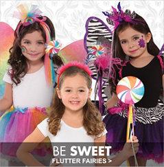 Girls Flutter Fairies Costumes