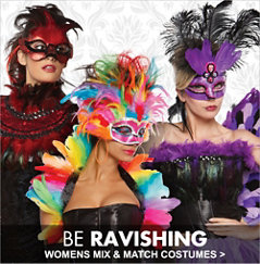 Womens Mix and Match Costumes