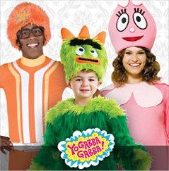 Yo Gabba Gabba Costumes