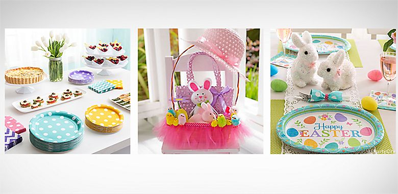Easter party supplies easter decorations ideas party city view all easter party ideas negle Choice Image