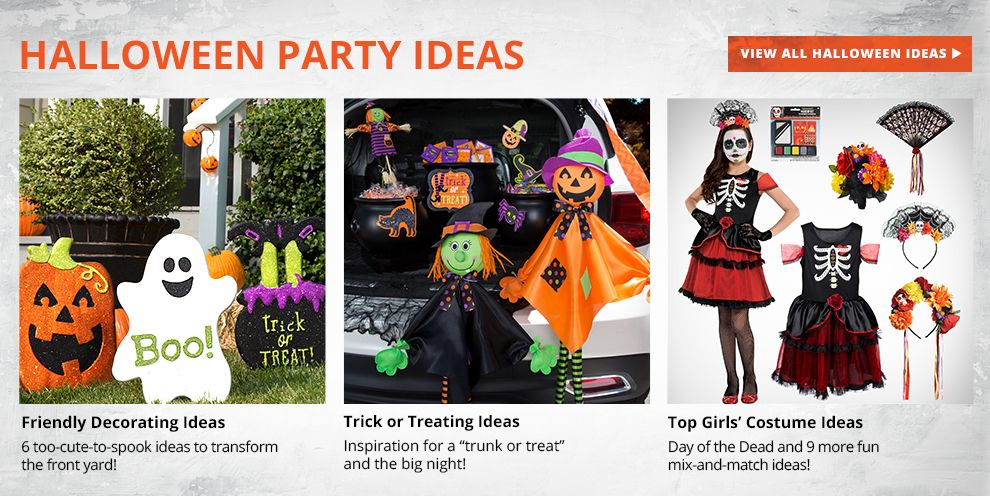 Halloween Party Ideas - View All Halloween Ideas