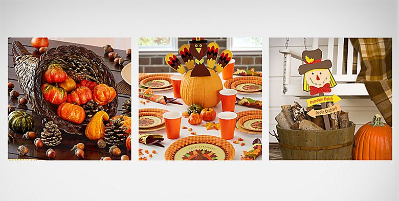 Thanksgiving decorations party supplies