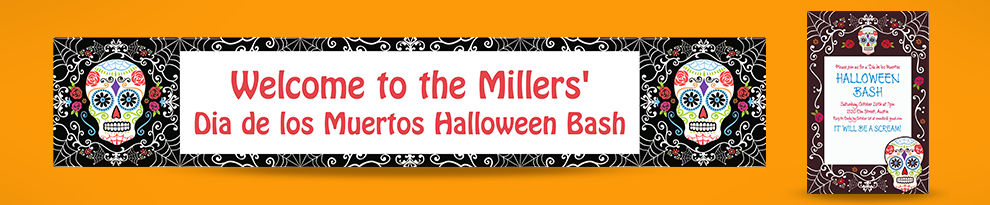 Custom Halloween Invitations & Banners — $10 off with $75 purchase. Enter code: Inscribe